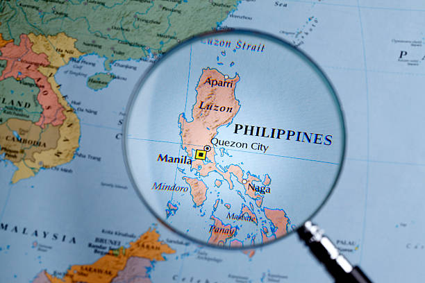 Top Philippines Map Stock Photos, Pictures and Images - iStock