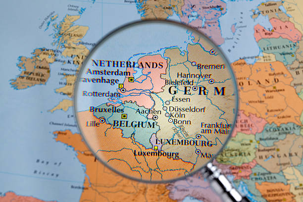 Royalty Free Western Europe Map Pictures Images And Stock Photos - Western europe map