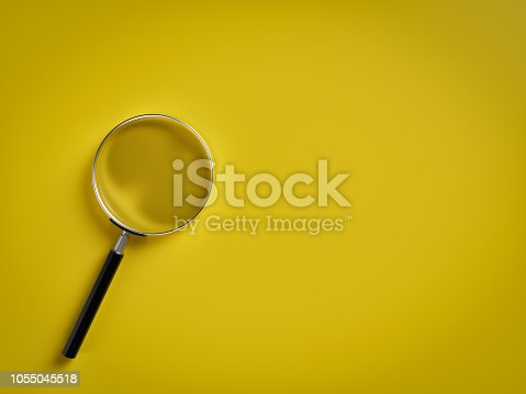 Magnifying Glass, Single Object, Loupe, Discovery, Searching