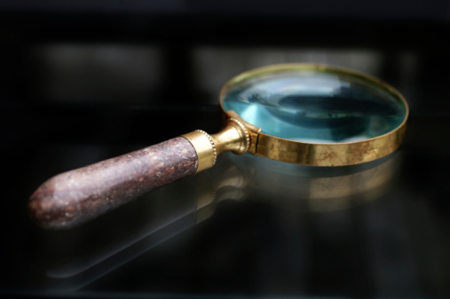 Magnifying Glass Stock Photo - Download Image Now