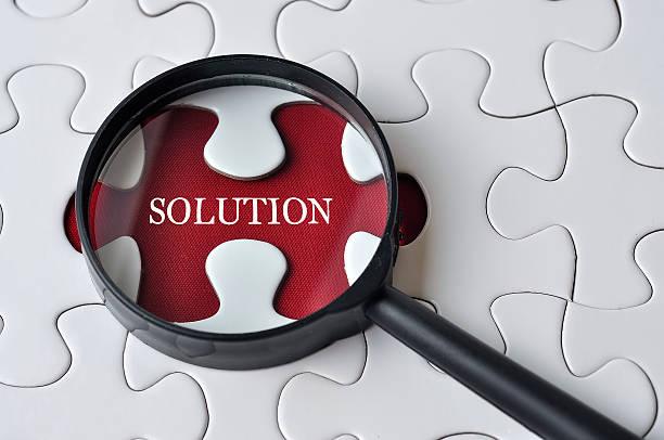 Lupe suchen fehlende puzzle Lösung
