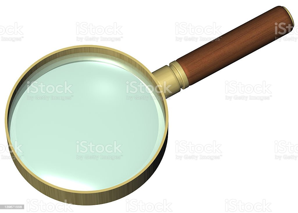 MagnifyingGlass stock photo