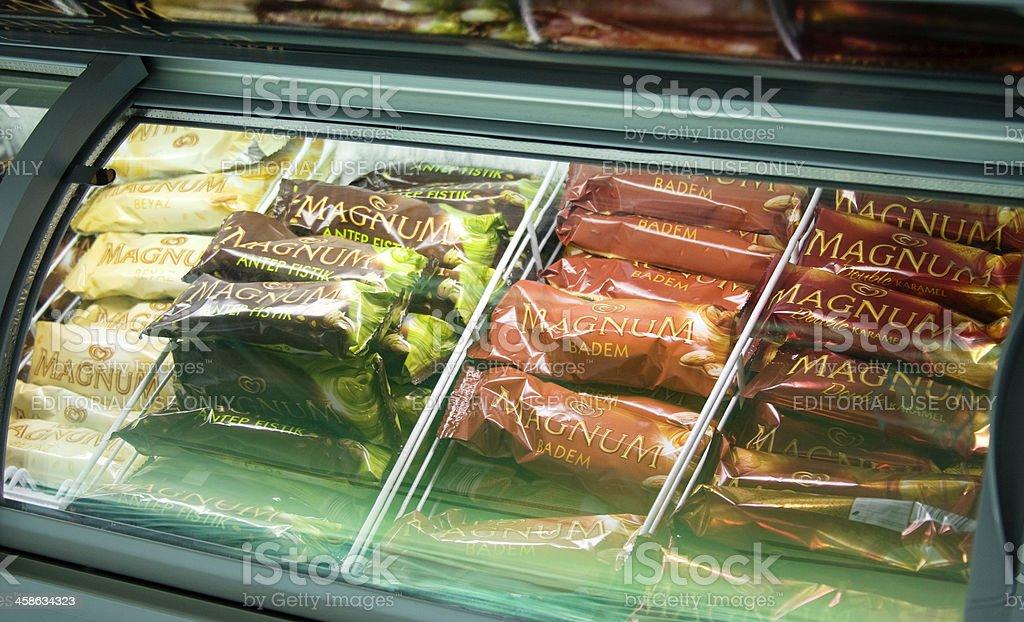 Magnum ice creams stock photo