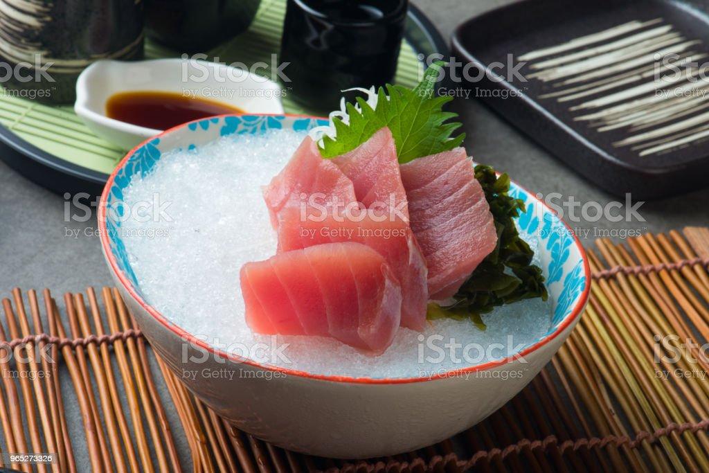 magura Akami , Tuna Sashimi sushi zbiór zdjęć royalty-free