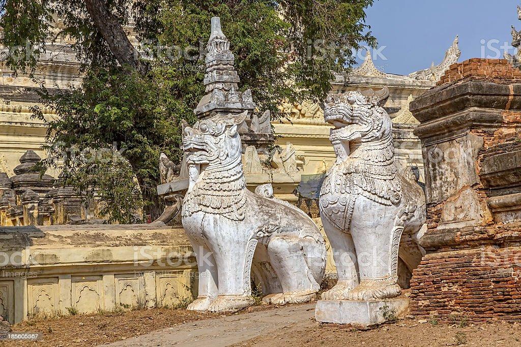 Maha Aungmye Bonzan, Mandalay royalty-free stock photo