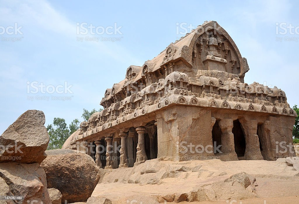 mahabalipuram royalty-free stock photo