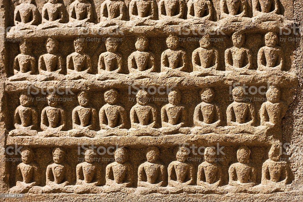 Mahabodhi Temple Complex stock photo