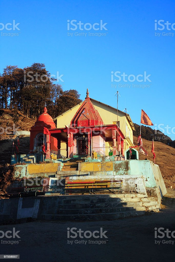 Temple de Mahakali photo libre de droits