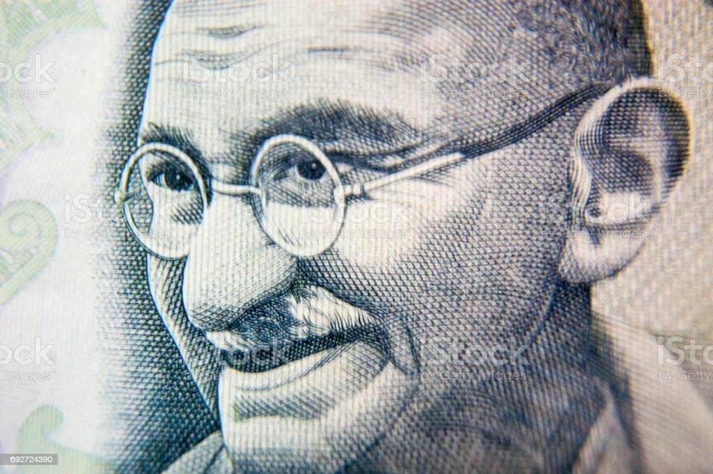 Mahatma Gandhi - Father of nation stock photo