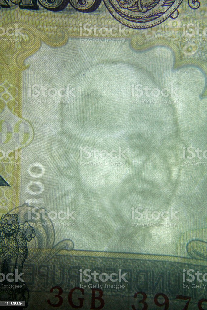 Mahatma Gandhi Watermark Stock Photo - Download Image Now