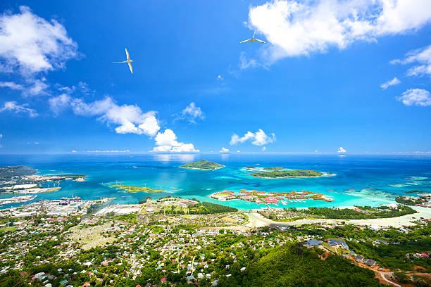 마헤이 해안선 - 세이셸 뉴스 사진 이미지