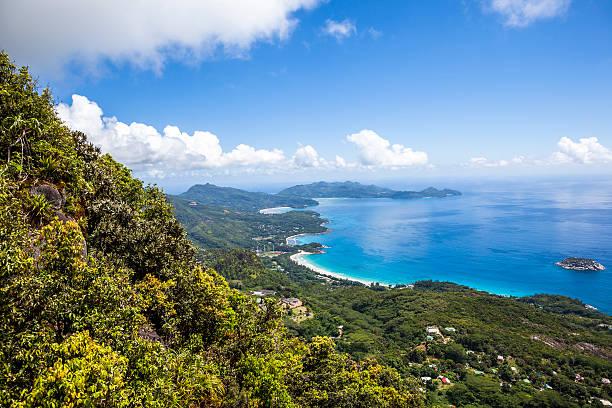 mahe island view - 마헤 섬 뉴스 사진 이미지