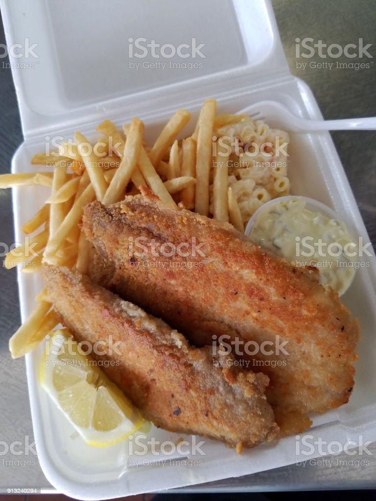Mahi Mahi Plate stock photo