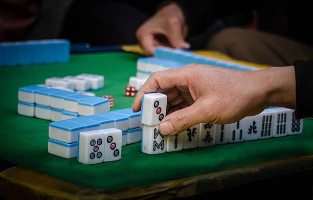 Mah-Jongg-Spiel – Foto