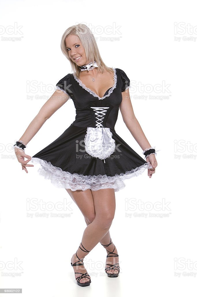 Maid Costume stock photo  sc 1 st  iStock & Royalty Free French Maid Outfit Pictures Images and Stock Photos ...