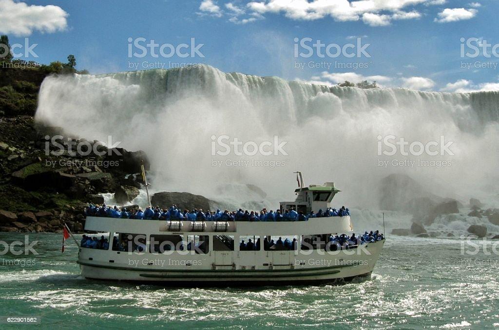 Maid of the Mist Niagara Falls stock photo