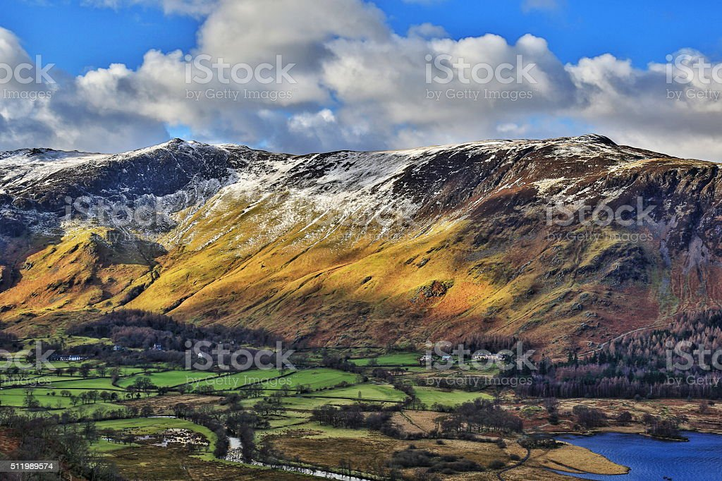 Maiden Moor stock photo