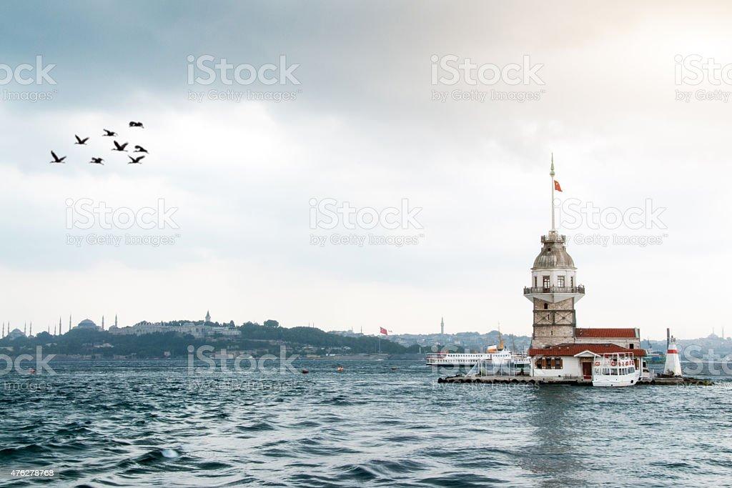 Maiden's Tower stock photo