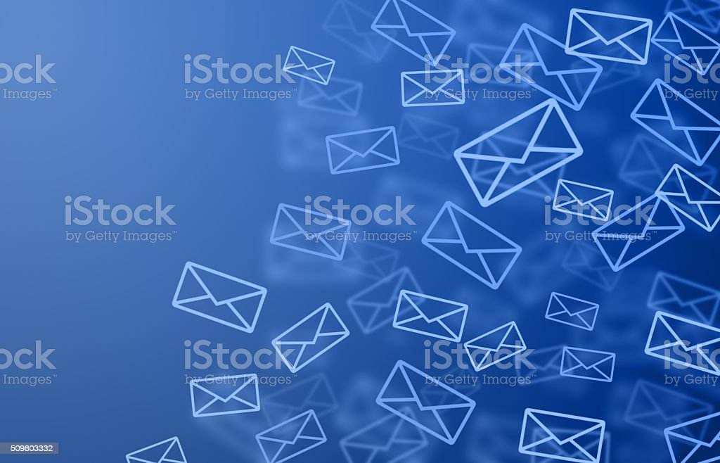Mail background stock photo