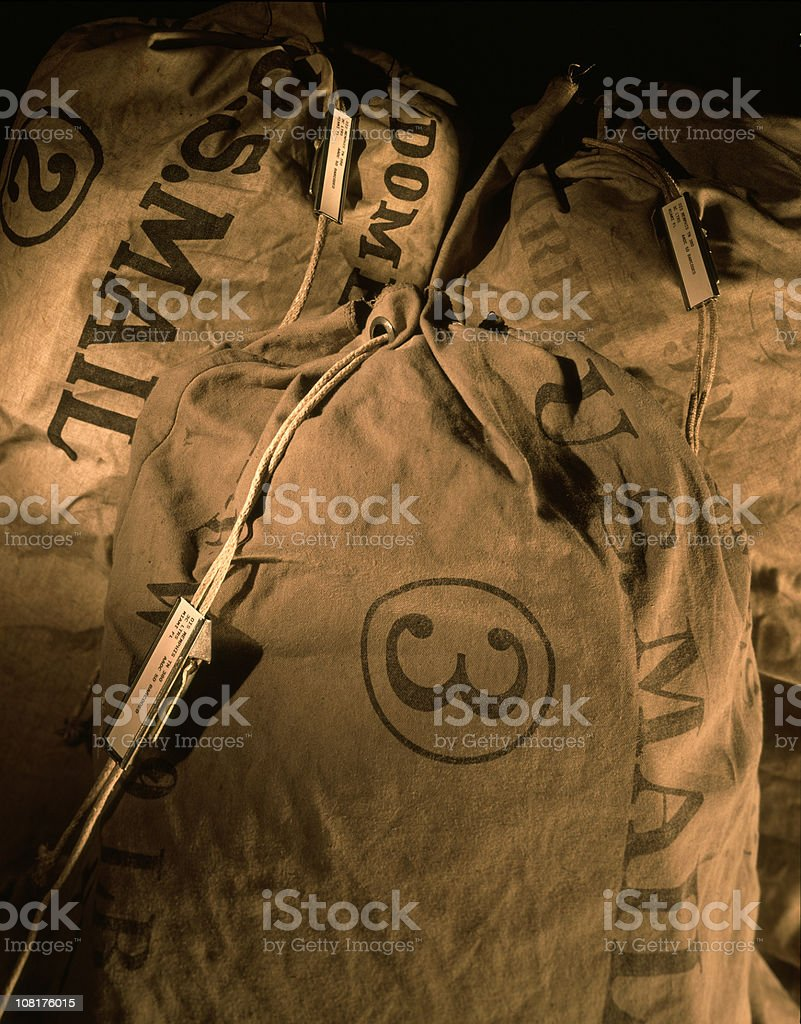 Mail Bags royalty-free stock photo