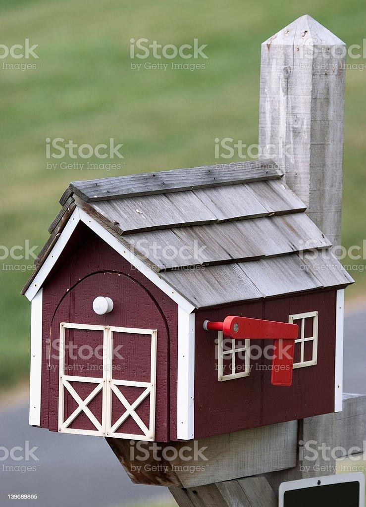 mail box royalty-free stock photo