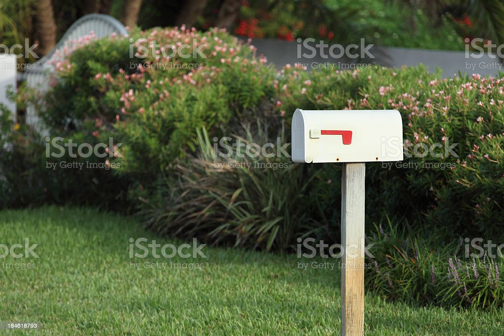 mail box stock photo