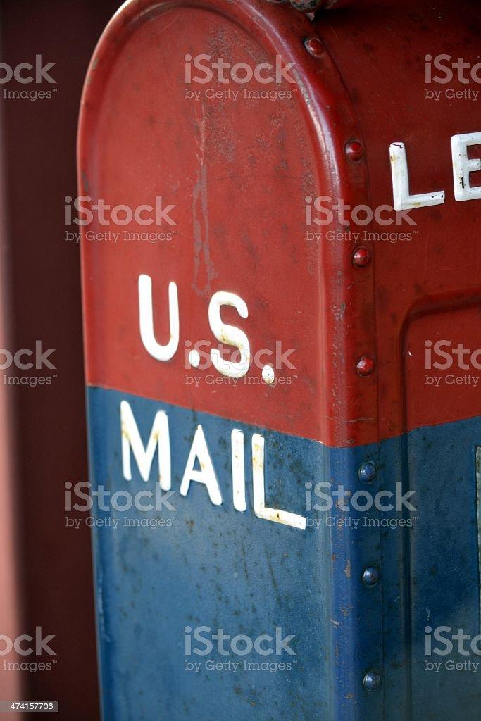 US Mail Box stock photo