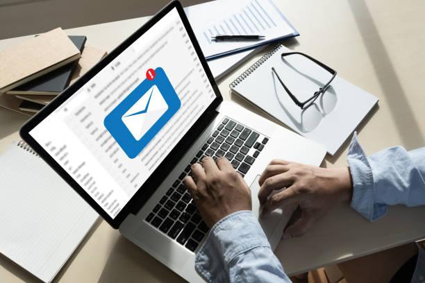 메일 연락처를 메일 통신 연결 메시지 전화 글로벌 편지 개념 - 전자메일 뉴스 사진 이미지