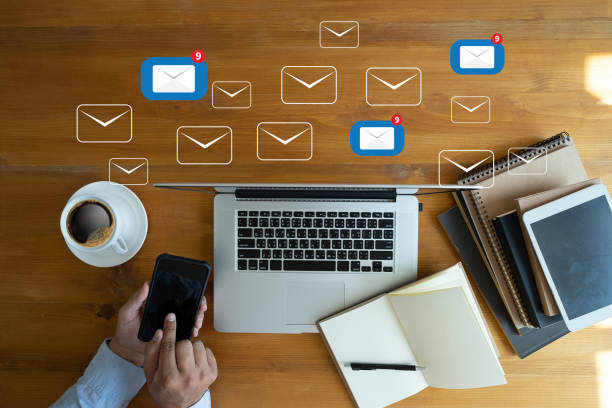 mail communication connection message to mailing contacts phone global letters concept - e mail stock pictures, royalty-free photos & images