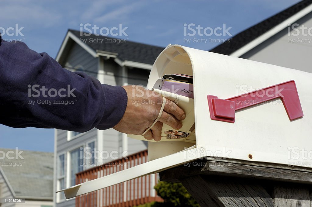 Mail Delivery stock photo