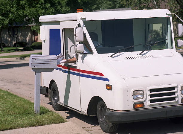 mail delivery - mail stock photos and pictures