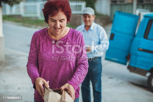 891482746istockphoto Mail delivery to your home address 1176986441