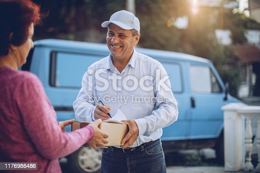 891482746istockphoto Mail delivery to your home address 1176986486
