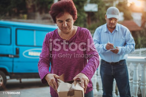 891482746istockphoto Mail delivery to your home address 1176986488