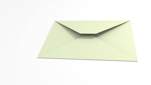 Cтоковое фото Mail envelope on a white background