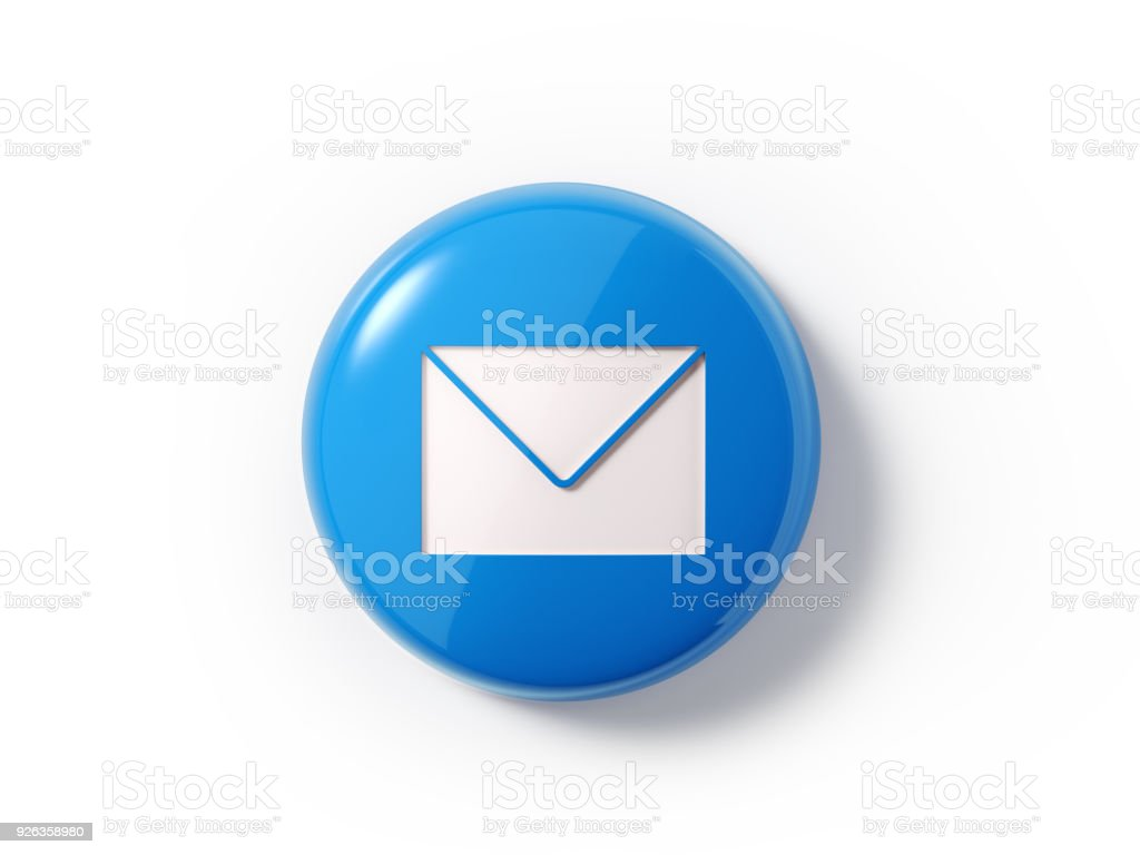Mail Icon On White Background Stock Photo More Pictures Of Asking