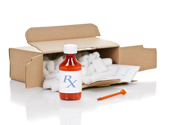Mail Order Drugs stock photo
