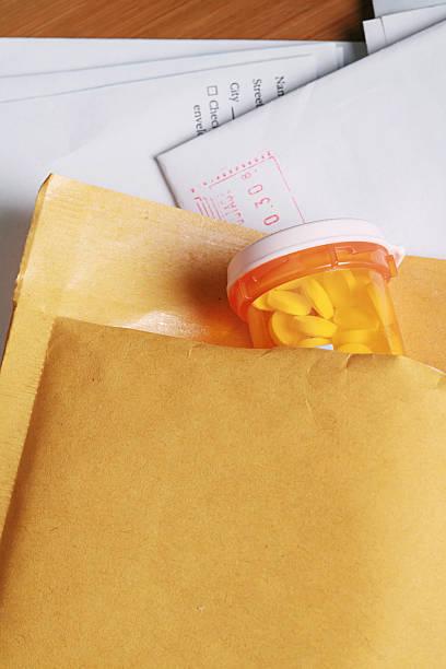 Mail Order Prescription stock photo