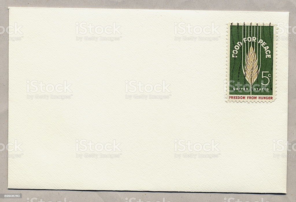 USA Mail. royalty-free stock photo