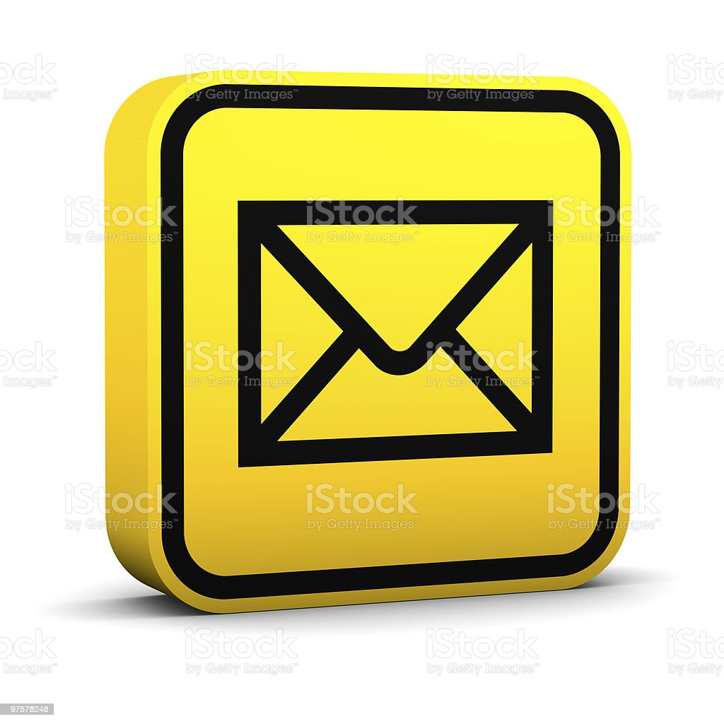 Mail Sign royalty-free stock photo