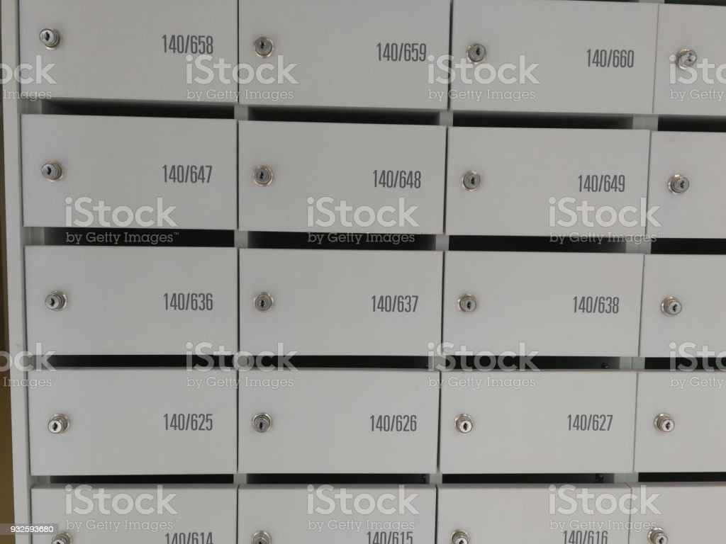 Mailbox Apartment Stock Photo - Download Image Now - iStock