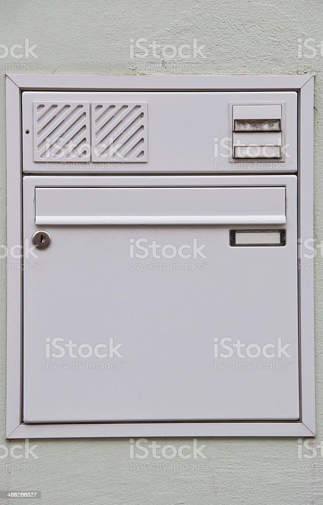 Briefkasten, Türklingel und Sprechanlage – Foto