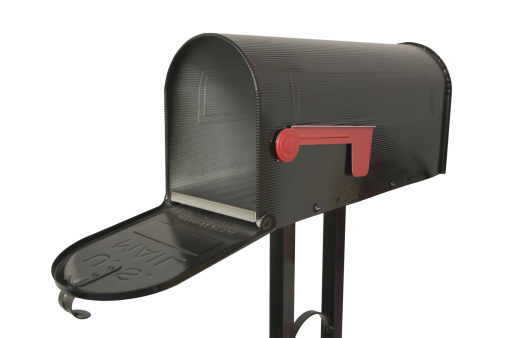 An isolated mailbox
