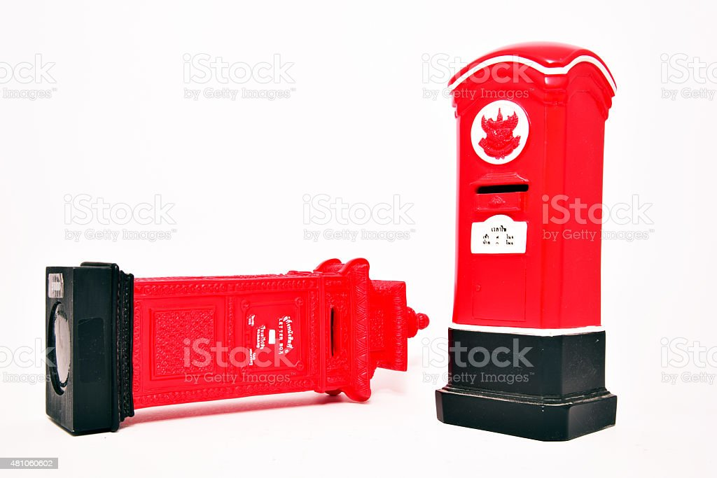 Mailbox Mailbox in the past Thailand  2015 Stock Photo