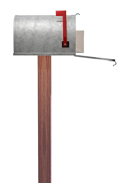 Mailbox side view  fully unbuttoned stock pictures, royalty-free photos & images