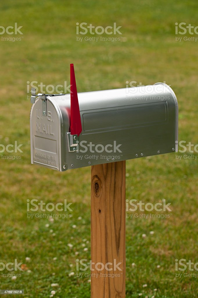 Royalty Free Mailbox Flag Up Pictures Images and Stock Photos iStock