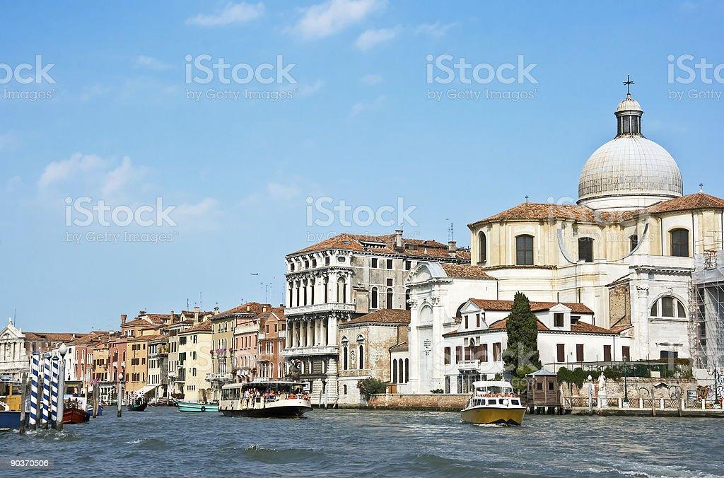 main canal of Venice royalty-free stock photo