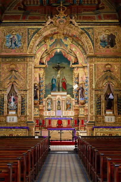 Wichtigste Kirche der Heiligen Maria der Angels Church in Penedo Stadt, Bundesstaat Alagoas, Brasilien. – Foto