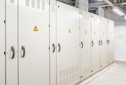 main distribution room for electricity power