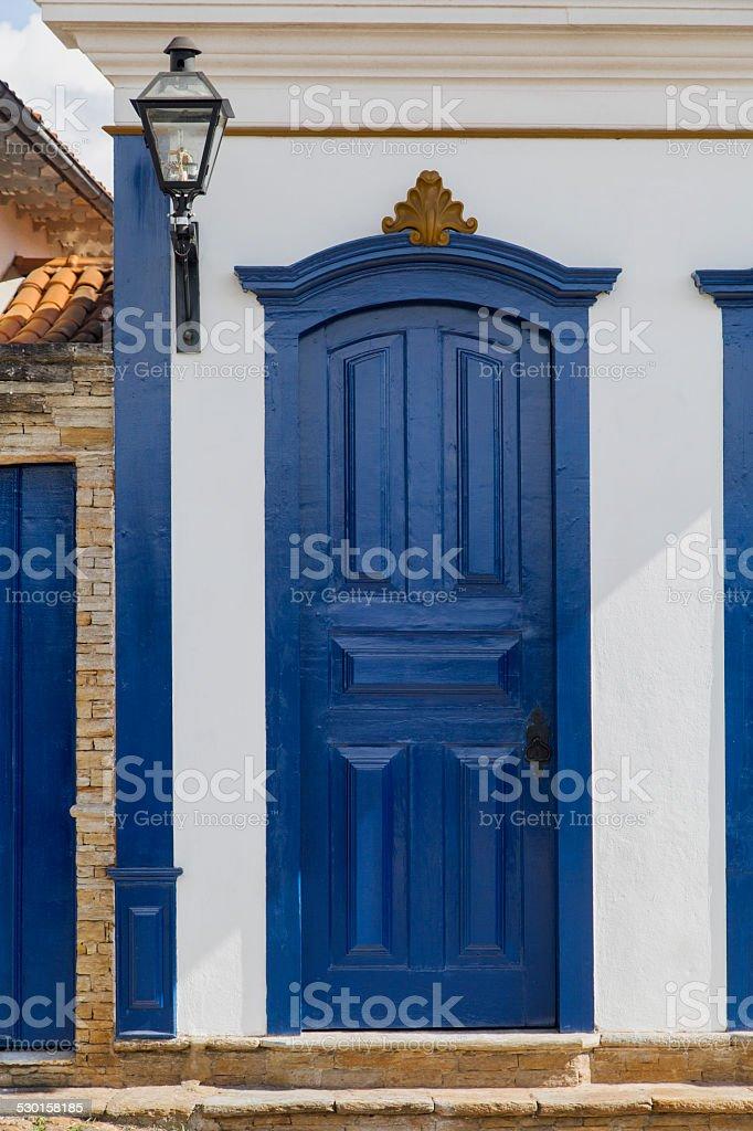 Porta de entrada principal - foto de acervo